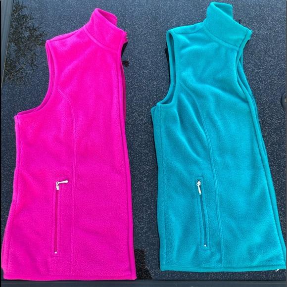 Karen Scott Jackets Amp Coats Two Fleece Vests Bundle